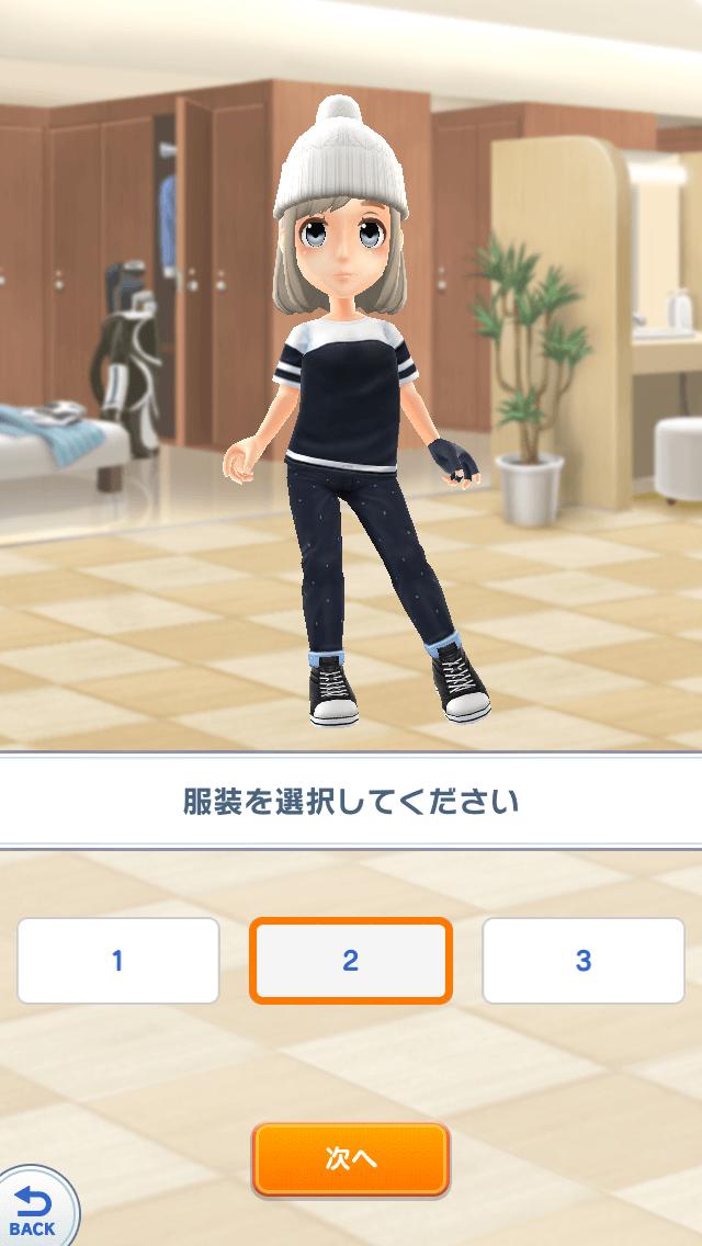 【みんゴル】キャラクター作成